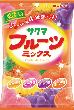 <p_00300>フルーツミックスキャンデー